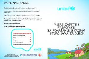 Mjere zaštite i preporuke za ponašanje u kriznim situacijama za djecu